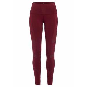 LASCANA ACTIVE Sportovní kalhoty  rubínově červená