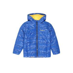 Pepe Jeans Zimní bunda 'ALPHIE'  modrá / žlutá