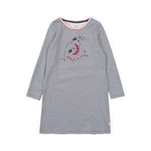 SANETTA Noční košilka 'Sleepshirt'  modrá / šedý melír