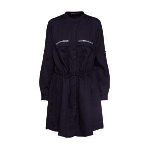 LTB Košilové šaty 'ELYA'  černá