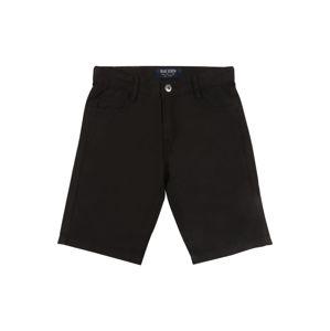 BLUE SEVEN Kalhoty  černá