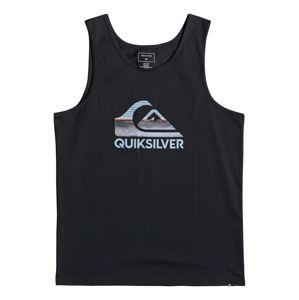 QUIKSILVER Funkční tričko 'WAVES TANK'  černá