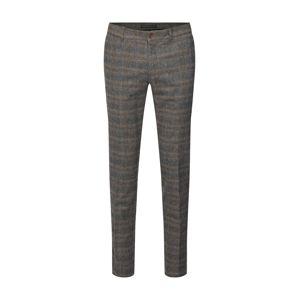 DRYKORN Chino kalhoty 'MAD'  béžová / tmavě šedá