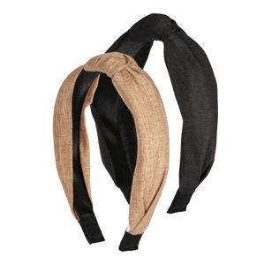 ABOUT YOU Šperky do vlasů 'Alara'  černá / karamelová
