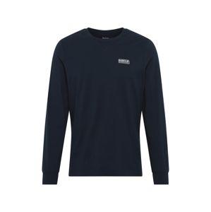 Barbour International Tričko  bílá / noční modrá