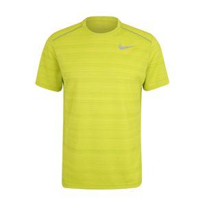 NIKE Funkční tričko 'Dry Miler'  citronová