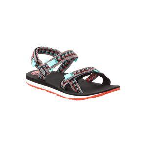JACK WOLFSKIN Trekingové sandály 'Outfresch'  tyrkysová / černá / červená