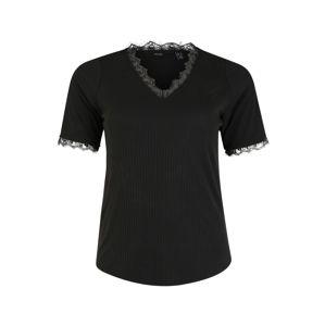Vero Moda Curve Tričko 'JUDY'  černá