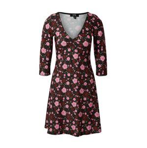 Dorothy Perkins Šaty  růžová / vínově červená