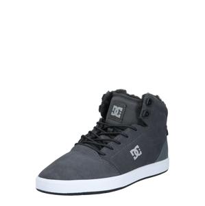DC Shoes Kotníkové tenisky 'Crisis'  tmavě šedá / bílá
