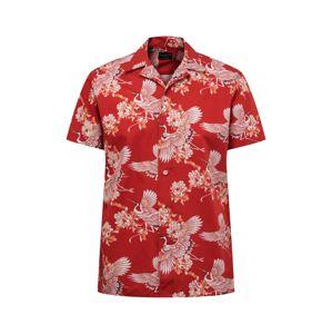 SELECTED HOMME Košile  šedá / červená