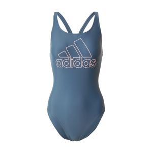 ADIDAS PERFORMANCE Sportovní plavky 'FIT SUIT BOS'  tyrkysová / petrolejová