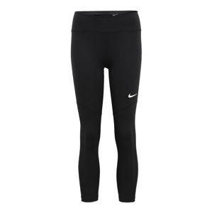 NIKE Sportovní kalhoty 'FLY CROP'  černá