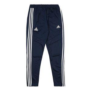 ADIDAS PERFORMANCE Sportovní kalhoty 'Tan'  námořnická modř / bílá
