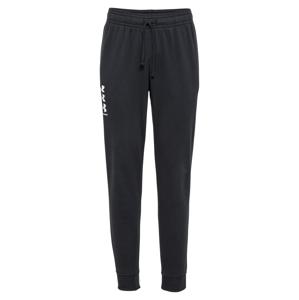 UNDER ARMOUR Sportovní kalhoty 'Rival'  černá / bílá