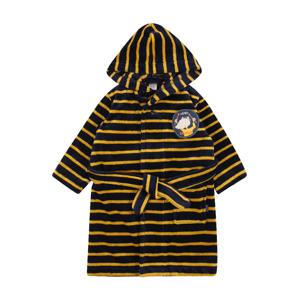 SCHIESSER Koupací plášť 'Rat Henry'  žlutá / tmavě modrá