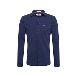 Tommy Jeans Košile  tmavě modrá