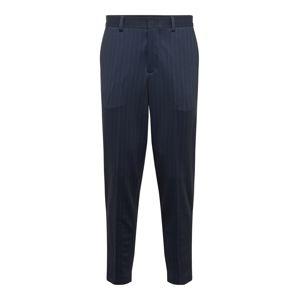SELECTED HOMME Kalhoty s puky  námořnická modř