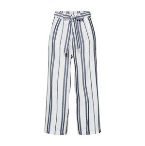PIECES Kalhoty 'CELLY'  námořnická modř / bílá