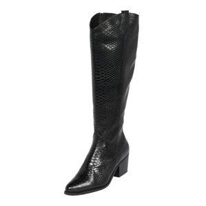 PS Poelman Kovbojské boty  černá
