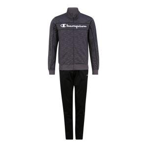 Champion Authentic Athletic Apparel Sportovní souprava  černá / tmavě šedá