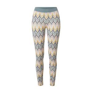 CALIDA Pyžamové kalhoty 'Elastic Trend'  žlutá / mátová