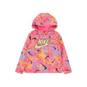Nike Sportswear Mikina  pink / světlemodrá / tmavě modrá / tmavě žlutá / červená
