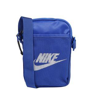 Nike Sportswear Taška přes rameno 'Heritage'  bílá / královská modrá