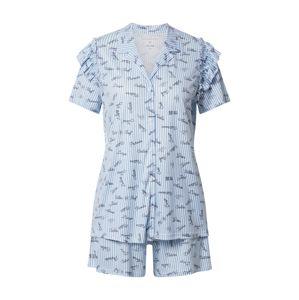 CALIDA Pyžamo 'Viktor & Rolf'  bílá / černá / světlemodrá
