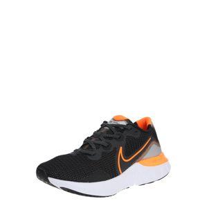 NIKE Běžecká obuv 'Renew Run'  oranžová / černá / bílá