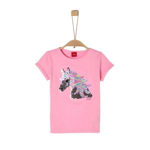 s.Oliver Tričko  světle růžová / mix barev