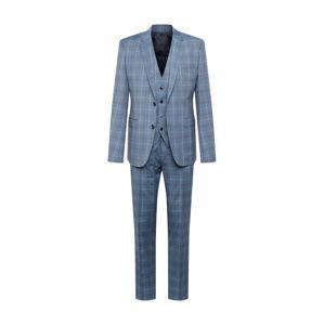 HUGO Oblek  chladná modrá