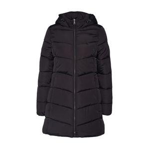 TOM TAILOR Zimní kabát  černá