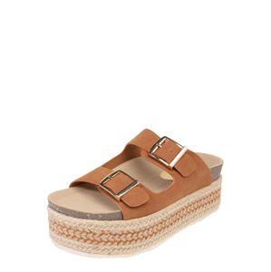Refresh Páskové sandály '69789'  velbloudí / hnědá