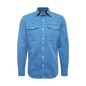 G-Star RAW Košile 'Lepton'  modrá