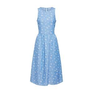 EDC BY ESPRIT Letní šaty  modrá džínovina