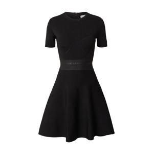 THE KOOPLES SPORT Šaty 'Robe'  černá