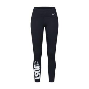NIKE Sportovní kalhoty 'Speed'  černá / bílá