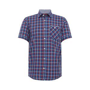 TOM TAILOR Košile  modrá / mix barev / červená