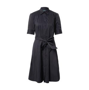 Lauren Ralph Lauren Košilové šaty 'Finnbarr'  černá