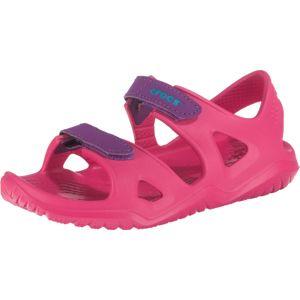 Crocs Otevřená obuv 'Swiftwater River'  pink / tmavě fialová