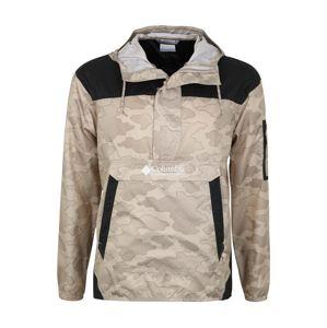 COLUMBIA Funkční bunda 'Challenger'  tmavě šedá / béžová