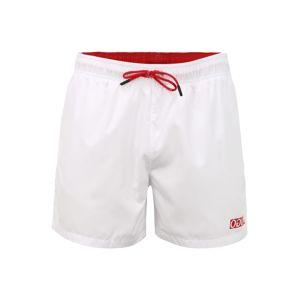 HUGO Plavecké šortky 'HAITI'  bílá