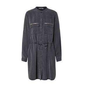LTB Košilové šaty 'ELYA'  šedá