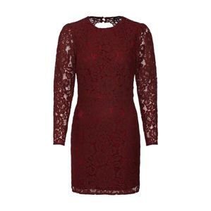 Fashion Union Šaty 'HARLOTTE'  burgundská červeň