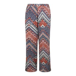 ONLY Carmakoma Kalhoty 'CARAFRICAN WIDE PANTS'  mix barev