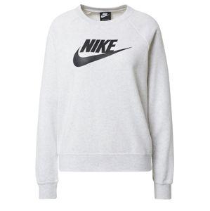 Nike Sportswear Mikina 'W NSW ESSNTL CREW FLC HBR'  bílá