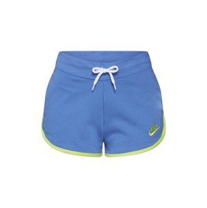 Nike Sportswear Kalhoty  královská modrá / žlutá