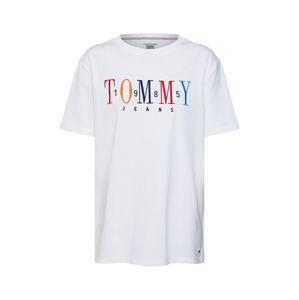 Tommy Jeans Tričko  mix barev / bílá