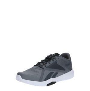 REEBOK Sportovní boty  šedá / grafitová